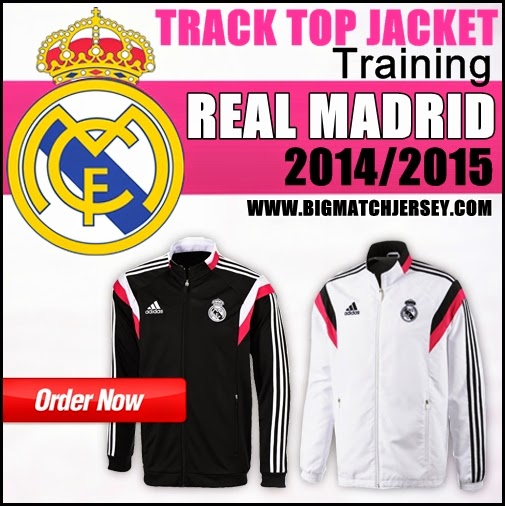 Jaket Real Madrid Training GO 2014 - 2015