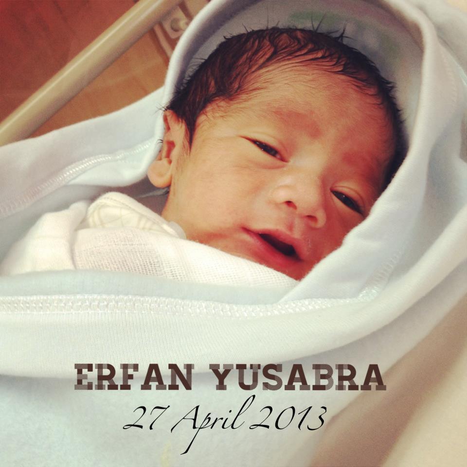 Sew Retro Chic!: Baby Erfan - My Birth Story