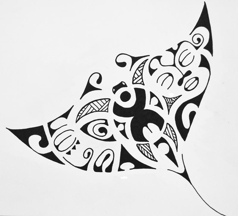 Tatau Tattoo Tatouage De Teamana Une Raie