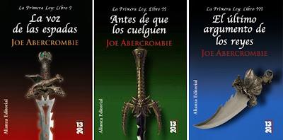 Trilogía de la Primera Ley de Joe Abercrombie