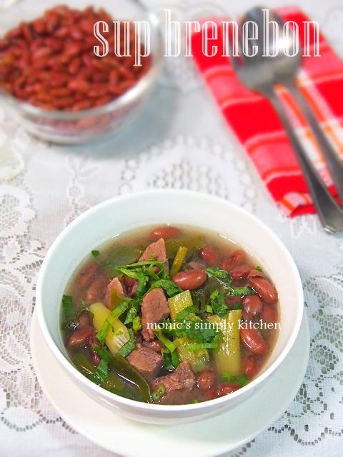 sup kacang merah khas Manado