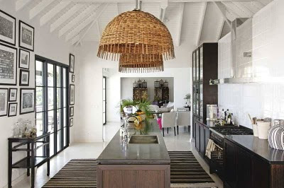 A touch of Luxe: A luxe St. Barths kitchen...