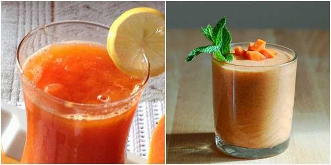 Minuman Sehat Detox Pepaya dan Apel