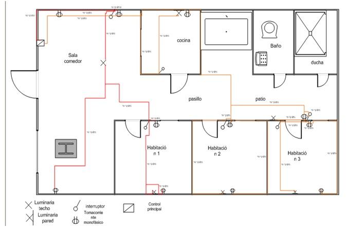 Automatizaci n industrial evidencias instalaciones for Planos electricos pdf
