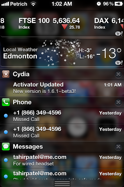 CydiaBulletin Cydia Tweak