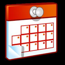 Calendar clip art icon
