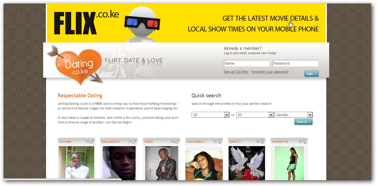 Online dating sites kenya