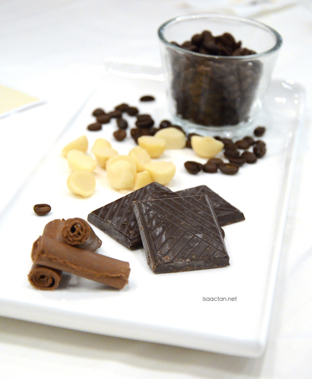 Chocolate and coffee, the best combination