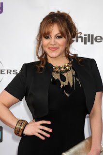 Jenni Rivera in black dress before death