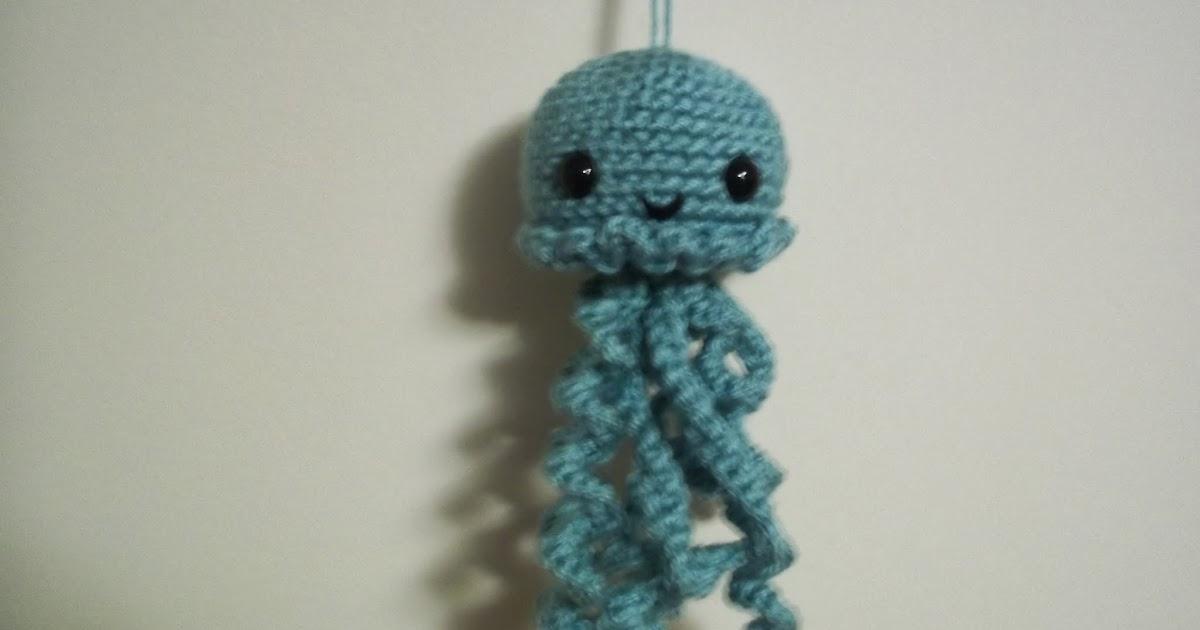 Crochet Patterns Only Blogspot : Eden is only a dream away: Cute Crochet Jellyfish Amigurumi Pattern