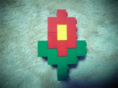 レゴフォント 花