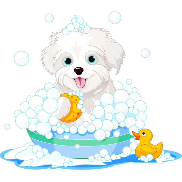 Bubble Bath Puppy