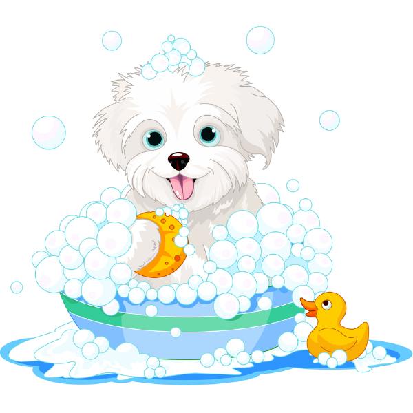 Bubble Bath Puppy