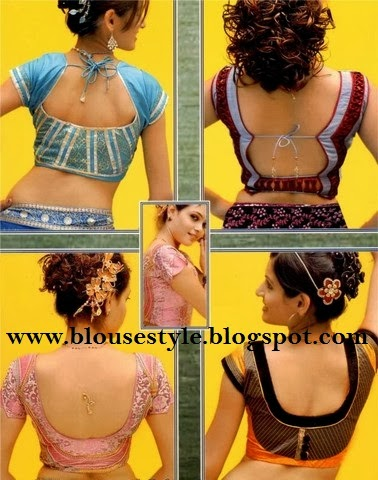 all Indian blouse back side pattern