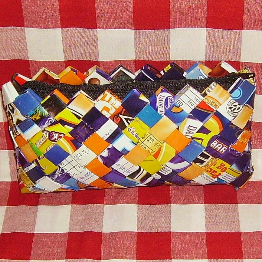 HOW TO MAKE A CANDY WRAPPER PURSE