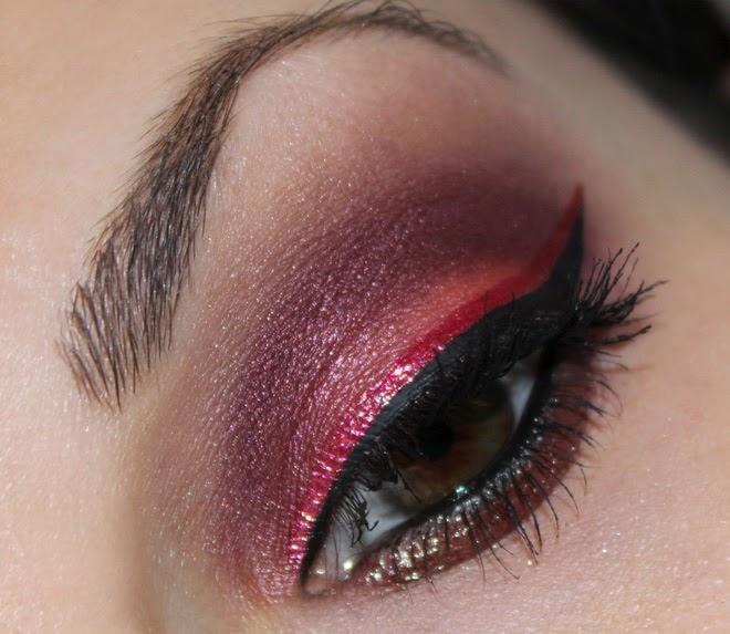 Pigmentomania Augen Make up mit Pigmenten