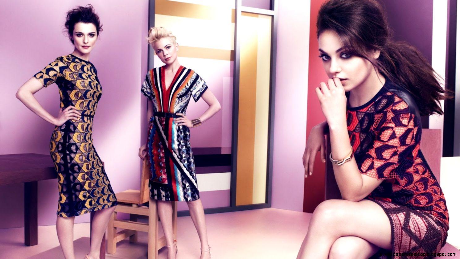 Mila Kunis Rachel Weisz Michelle Williams Girls Hd Wallpaper