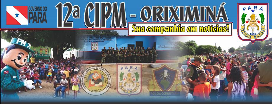 12ª CIPM - SUA COMPANHIA EM NOTÍCIAS