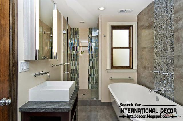 modern bathroom tiles designs ideas colors, wall tiles for bathroom