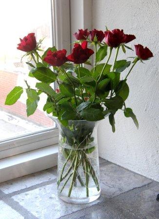 En buket af disse søde roser med til både pernille min datter og en