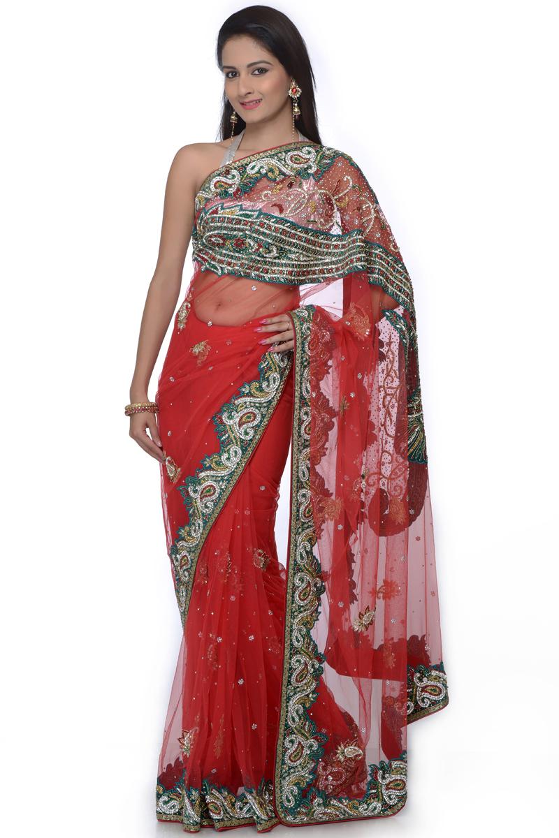 New designer wedding sarees latest fashion today for Designer com