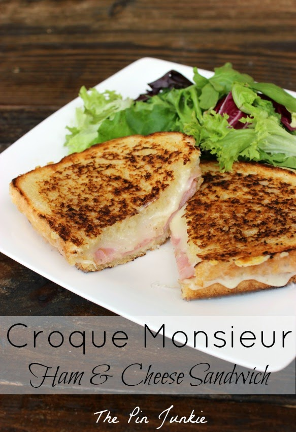 croque-monsieur-fried-ham-and-cheese sandwich