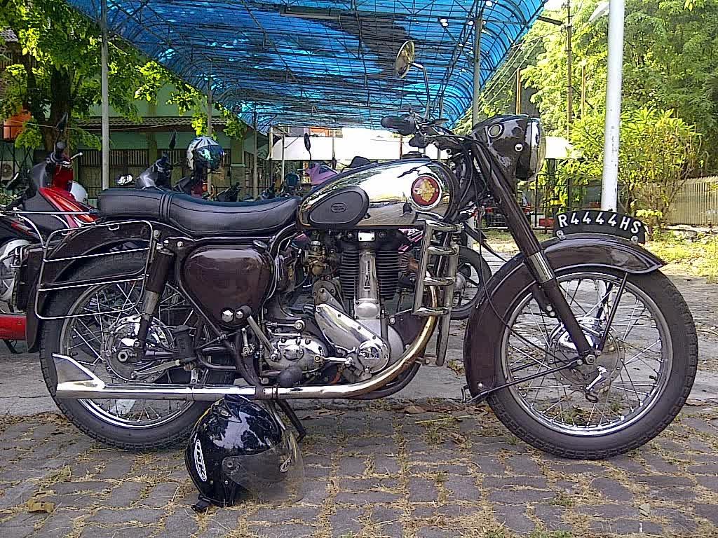 BSA 350cc 1956