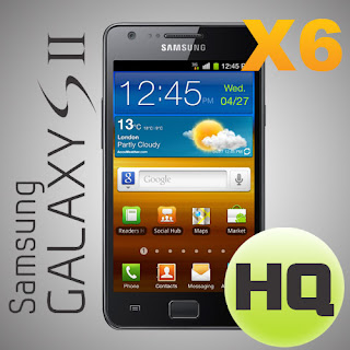 Screen Protector Film For Samsung Galaxy S2 II i9100