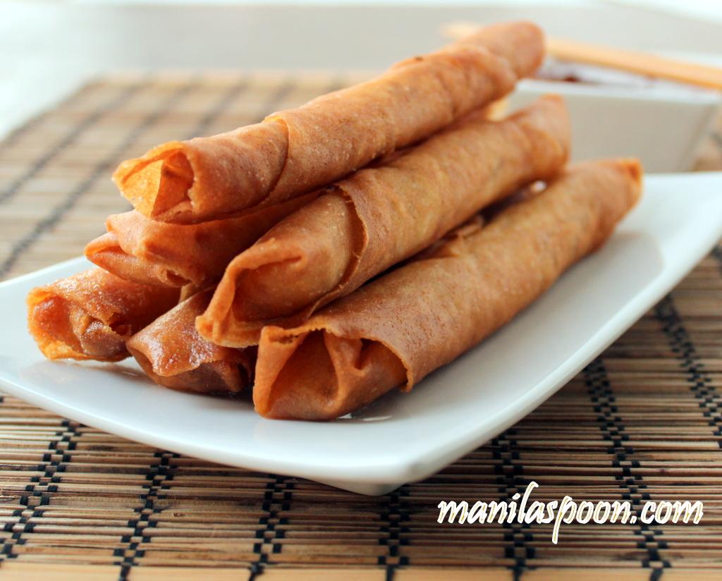 Manila Spoon: Lumpiang Shanghai (Filipino Spring Rolls)