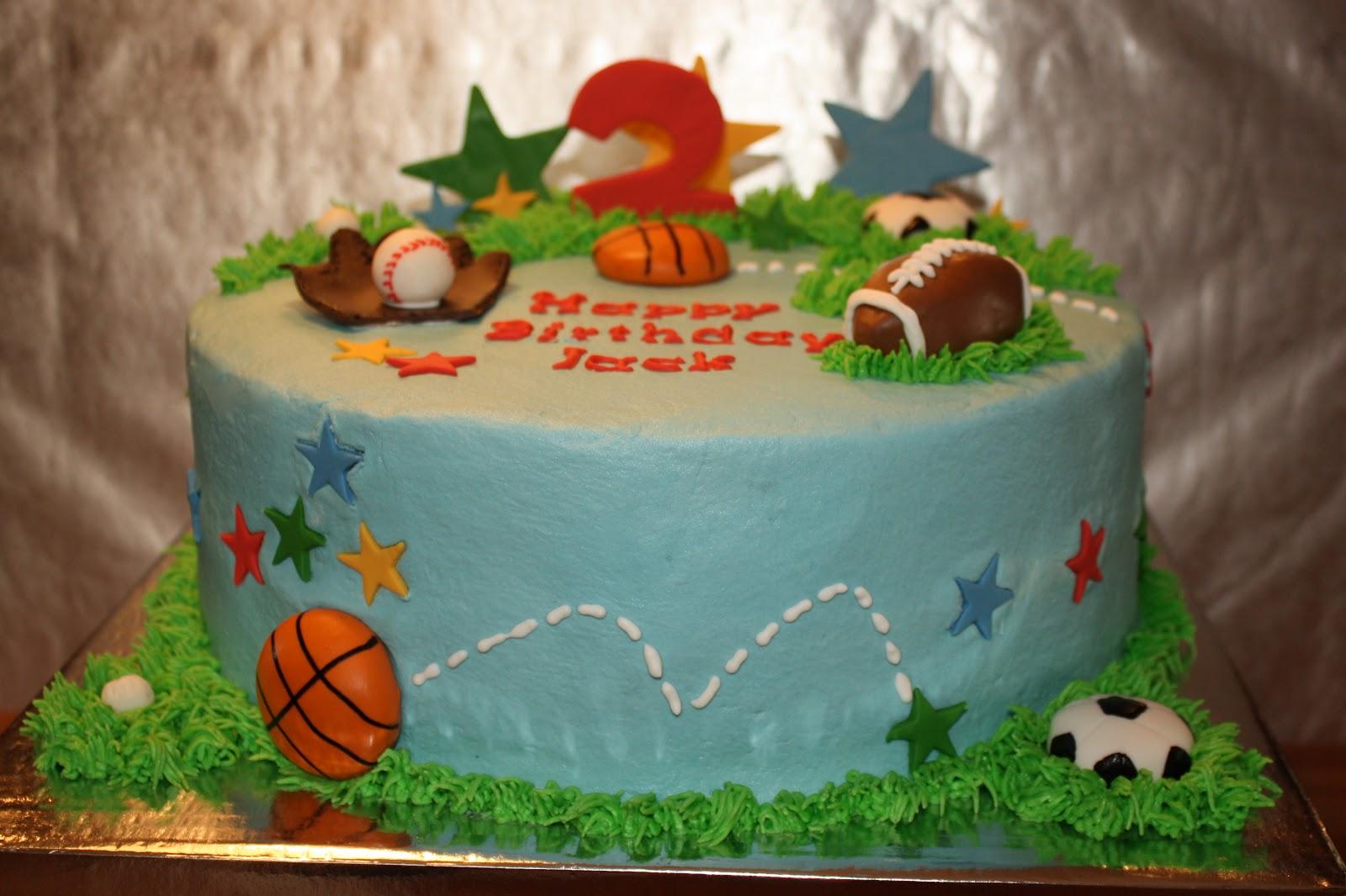 Kake AllStar Sports Cake - All star birthday cake