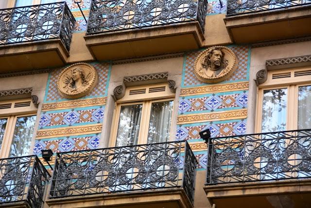 La Rambla Barcelona Facade