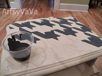 Artsy VaVa: End Table Makeover and Over and Over!