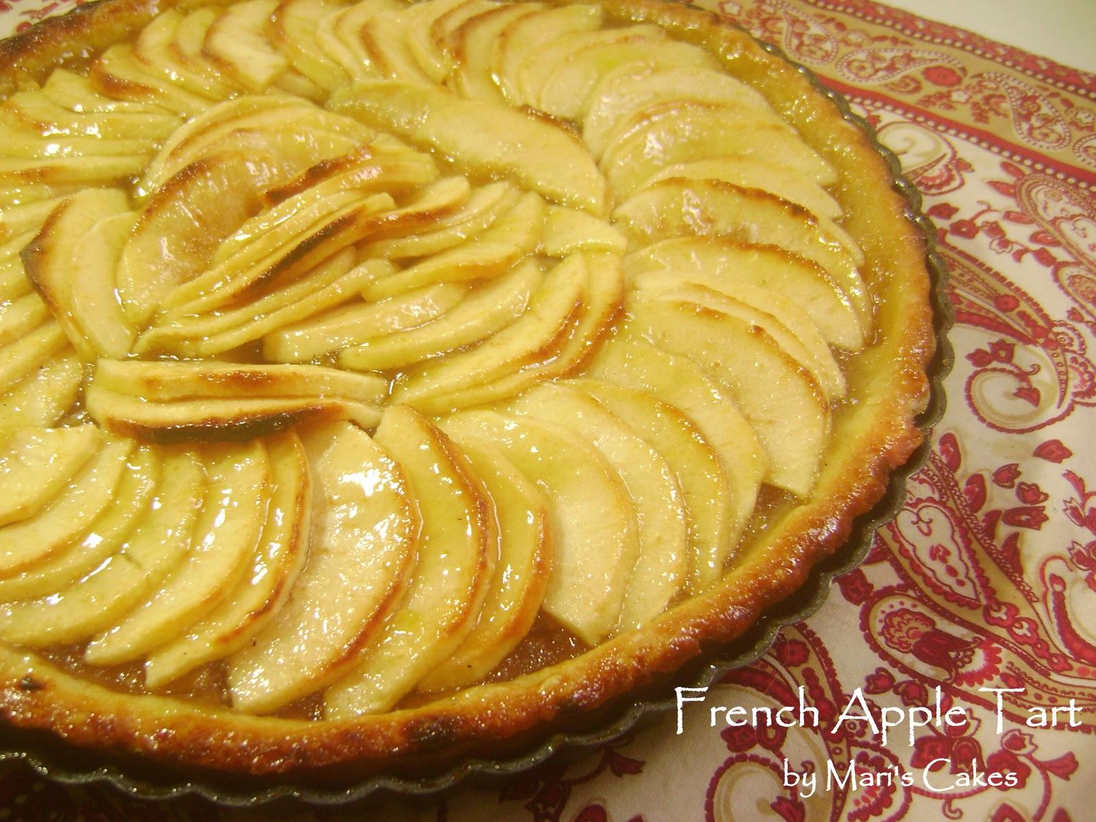 """... of French Apple Tart , the Classic Apple Tart, """"Tarte aux pommes"""