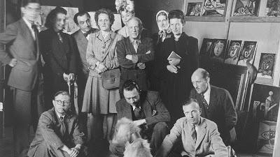Picasso met Simone de Beauvoir, Sartre en Camus