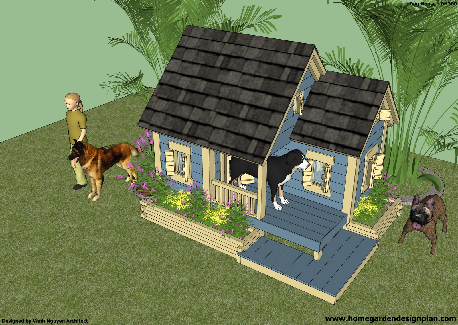 build a dog house Pet parents who want to accommodate this craving for security of their dogs may be interested in knowing how to build a dog house as their next diy project.