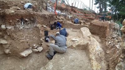 Ancient farmhouse found under Jerusalem road