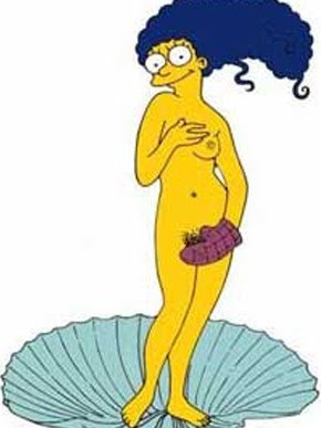 Marge Simpson Playboy Spread