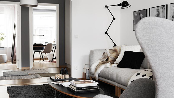 Apartment styled by Pella Hedeby | FloorNumberFour blog