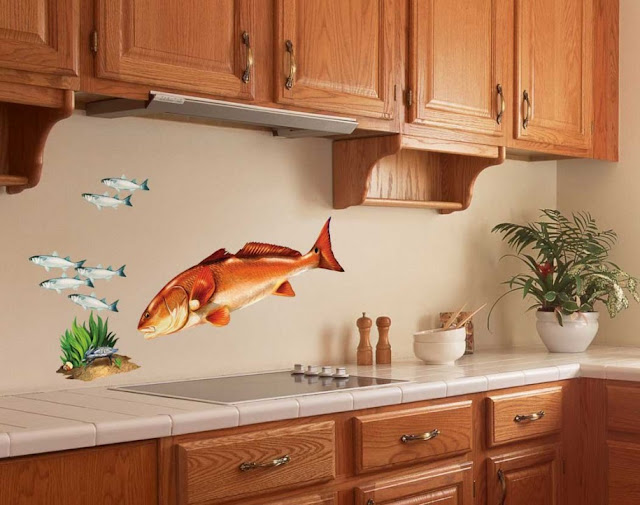Kitchen Decorating Ideas Wall Decoration 05