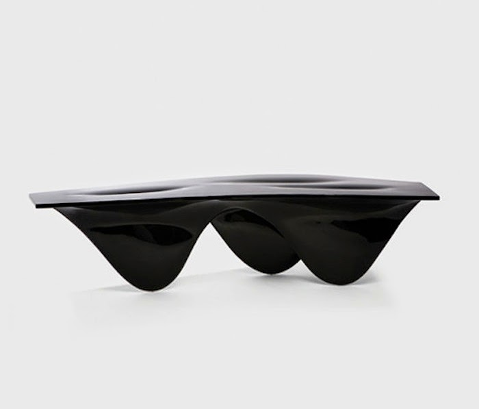 Aqua Table for Established & Sons designed by Zaha Hadid