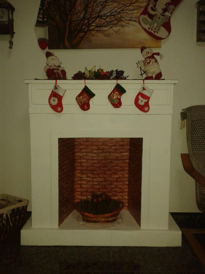 Un bohemio en la isla - Dibujos de chimeneas de navidad ...