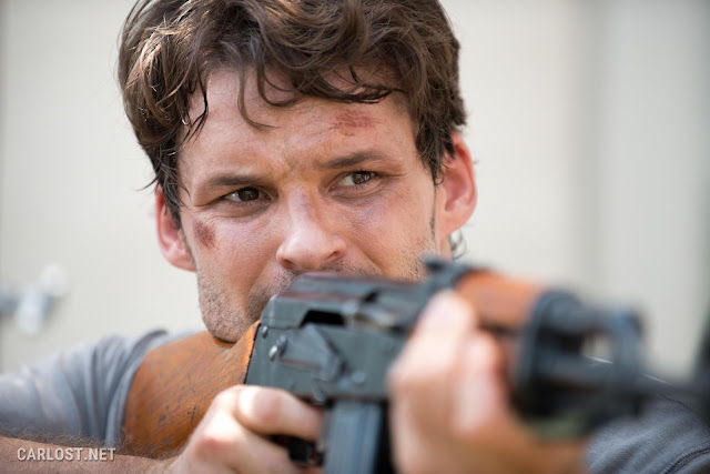 Austin Nichols como Spencer Monroe en The Walking Dead Temporada 6, Capítulo 8