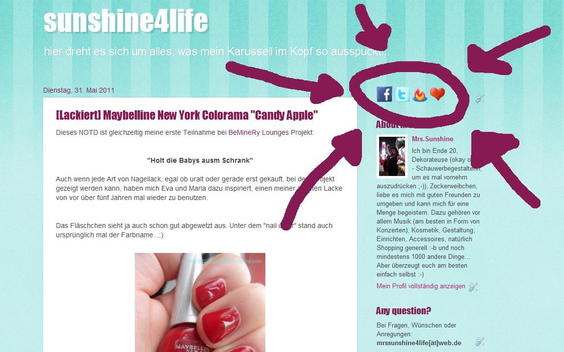 sunshine4life: [Tutorial] Social Media Icons einfügen mit \