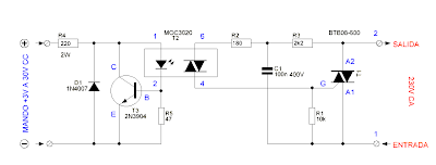 Solid State Relay Circuit