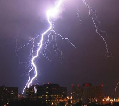 Scary Powerful Strikes to Towers, Buildings