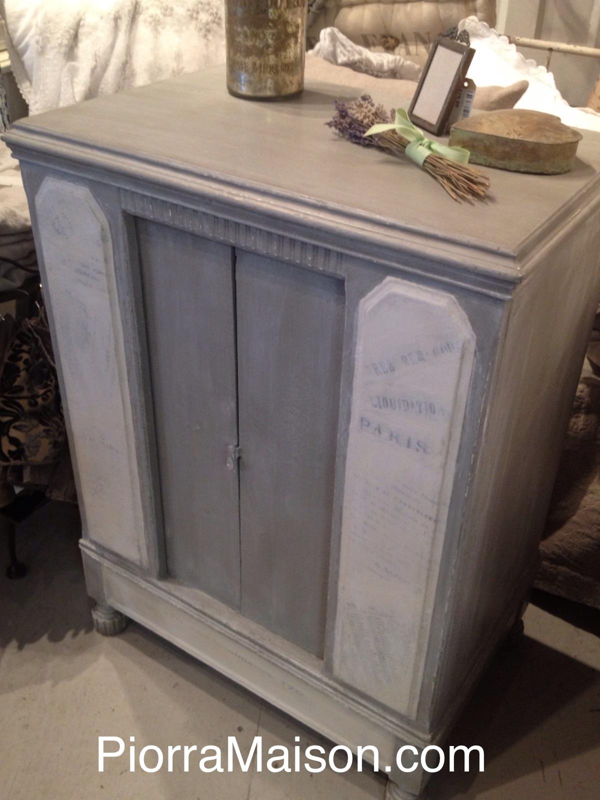 Piorra maison all things to inspire and desire chalk - Peinture a la craie pour meuble ...