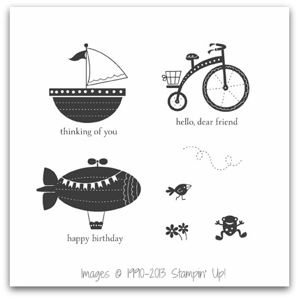 Stampin' Up! RMHC Moving Forward Stamp Set Artwork