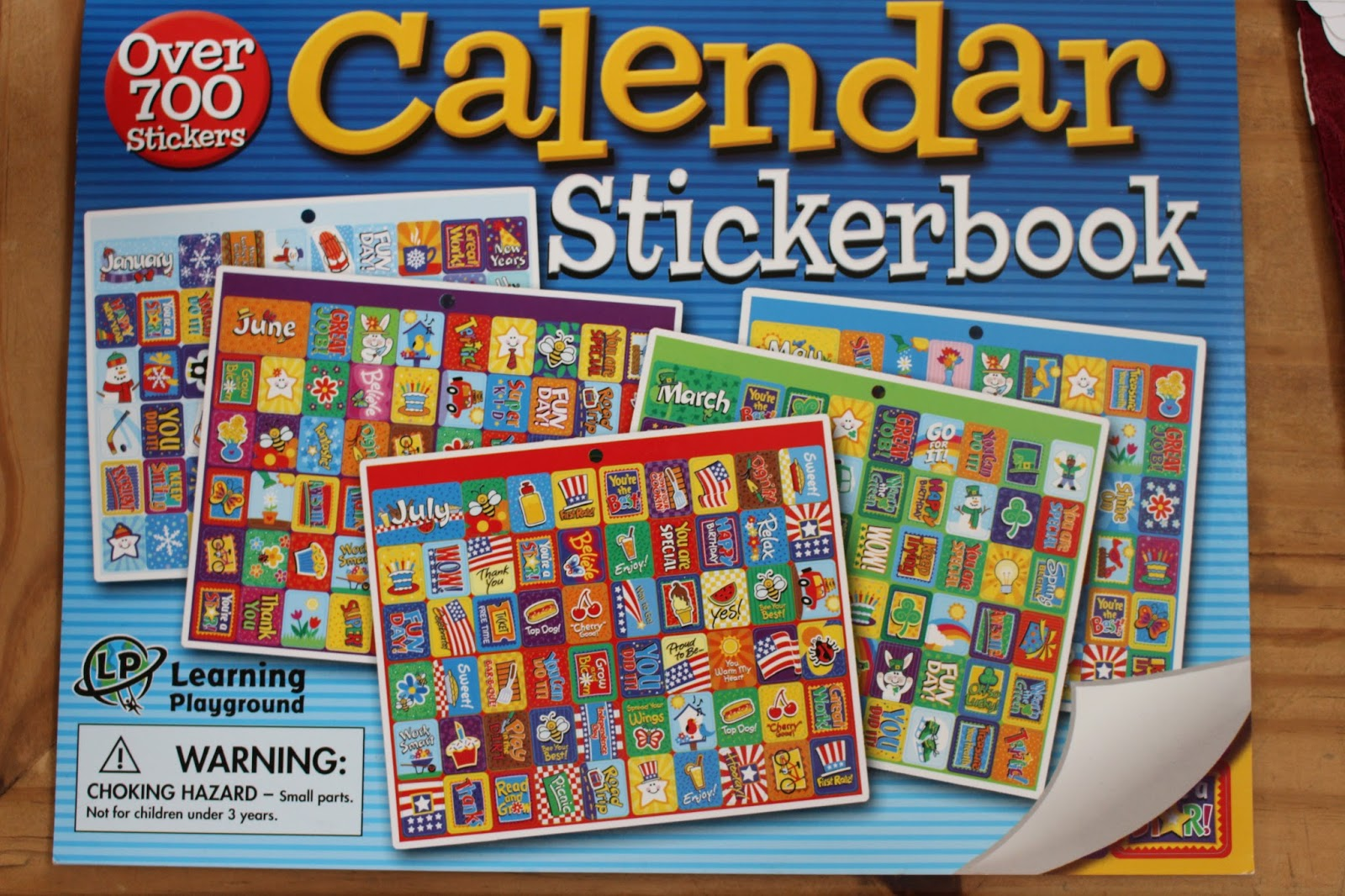 Children S Calendar With Stickers : Busybeingjen fun planner stickers haul