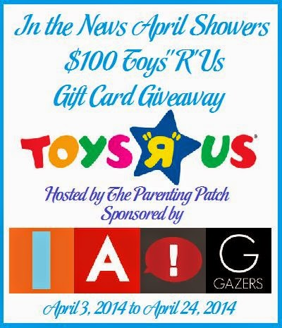 In the News April Showers Toys R Us Gift Card