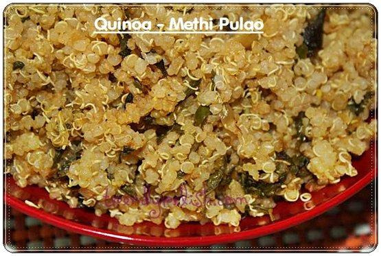 Quinoa – Methi Pulao